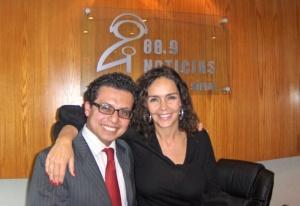 Participación en 88.9 FM el 24 de noviembre de 2009