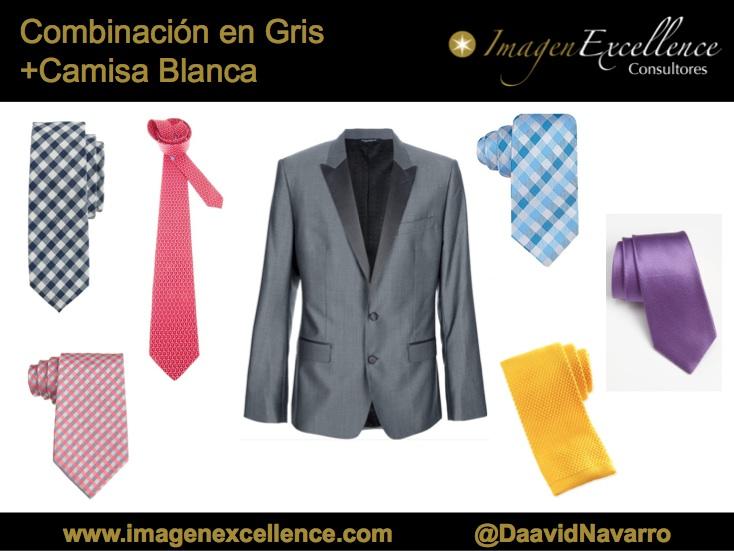 Combinaciones para graduaciones traje gris satinado - Combinaciones con gris ...