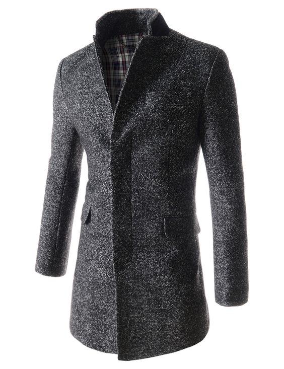 Abrigo de lana Hombres