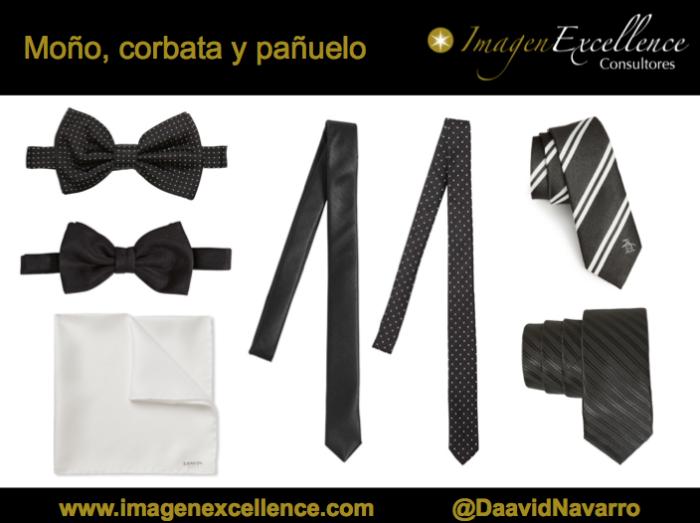 Moño_corbata_pañuelo_negros