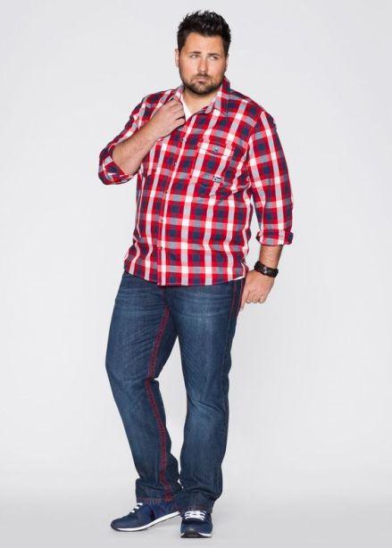 Camisas Cuadros Hombres Gordos