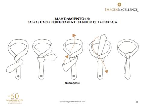 Como hacer nudo doble corbata