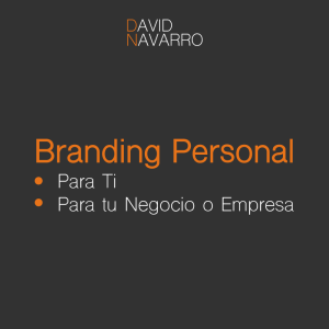Asesoria en Marca Personal o Branding Personal