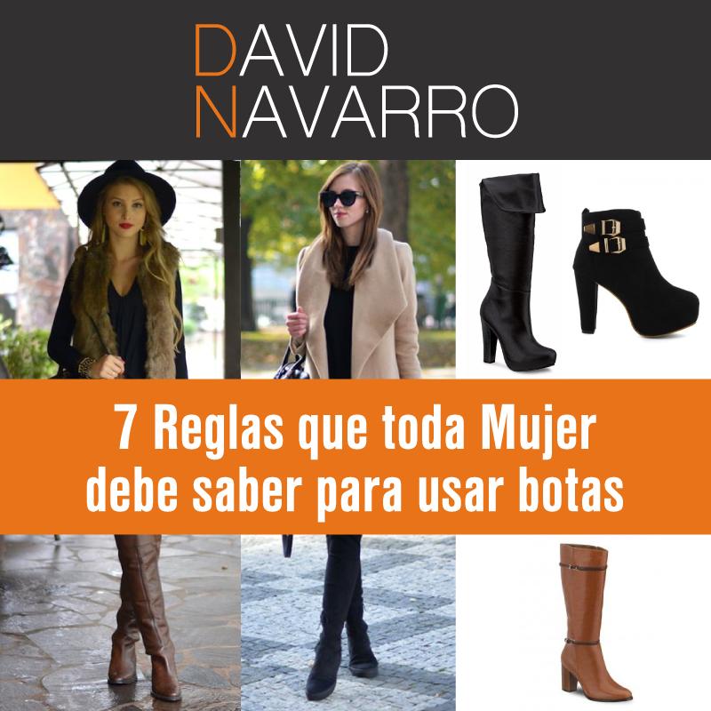 b4c05b31ac 7 Reglas que toda mujer debe saber para usar botas sin errores – Asesor de  Imagen y Comunicación