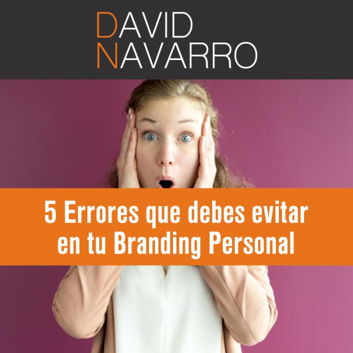 errores en Branding Personal