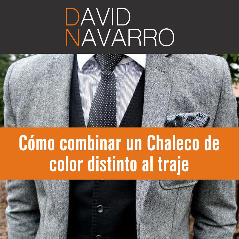 Cómo combinar chaleco de otro color con traje y corbata – Asesor de ...