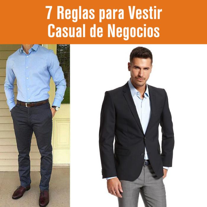 Reglas para vestir casual de negocios