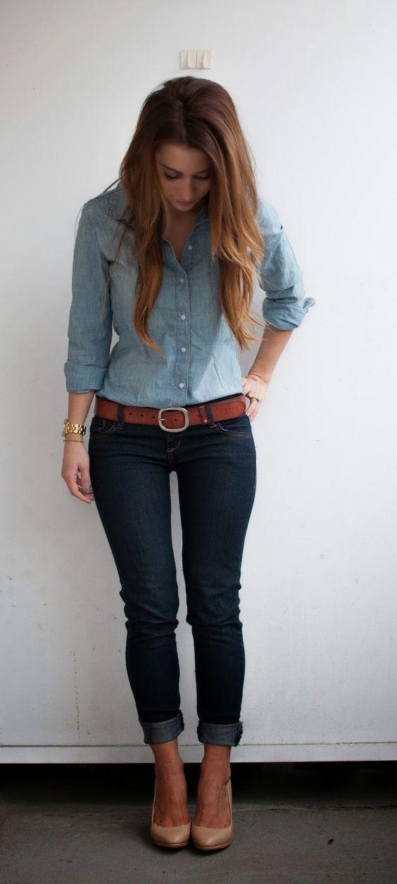 Mucho Estilo Jeans Vestir Maneras Con Para 10 qx6w7PAXO