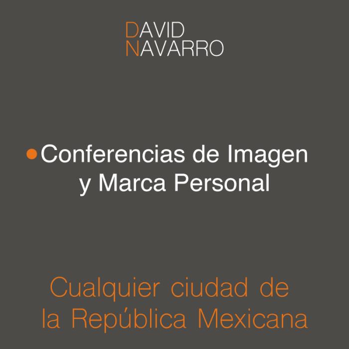Conferencias de Imagen Personal, Imagen Ejecutiva, Marca Personal